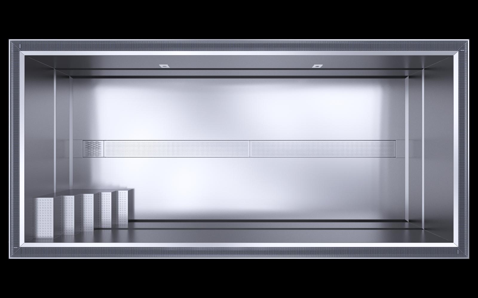 přelivový nerezový bazén (Vlastní) (1)